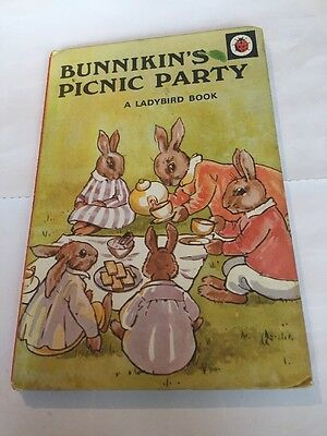 Vintage Ladybird Book- Bunnikin's Picnic Party
