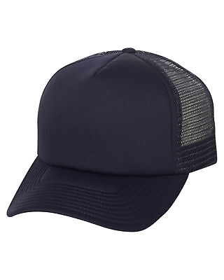 New Billabong Men's Black Trucker Cap Mesh Blue