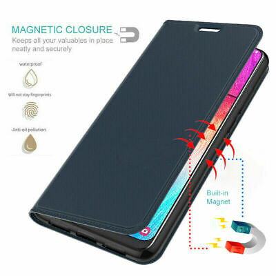 For Huawei P8 P9 P10 Lite Luxury Magnetic Leather Slim Flip Wallet Case Cover