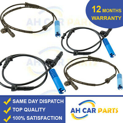 4X Mini One Cooper S R50 R52 R53 Abs Speed Sensor (01-07) Front Rear Left Right
