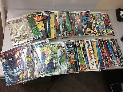 Large Lot of Assorted Comic Books - DC, Marvel, Dark Horse, Eclipse, Image...