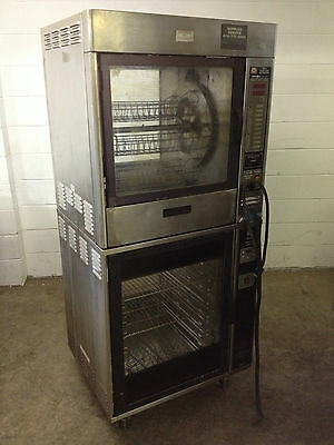 Henny Penny TR-6 Sure Chef Rotisserie & SCD-6 Sure Chef Heated Display Cabinet