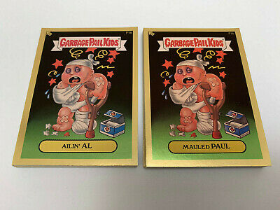 2004 USA Garbage Pail Kids ALL NEW SERIES 2 COMPLETE GOLD Card Set - ANS