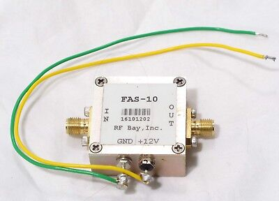 RF Bay Inc. FAS-10 100kHz-50MHz Divide By 10 Prescaler