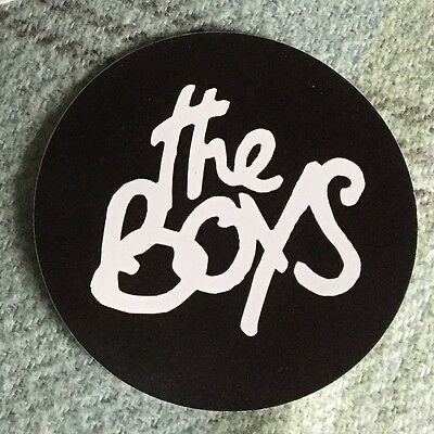 "Replica of Paul Weller's ""The Boys"" Sticker for your Rickenbacker 330 - The Jam"