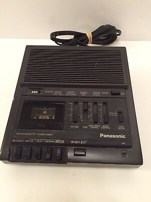 Panasonic RR-930 Microcassette Transcriber Dictation Tested