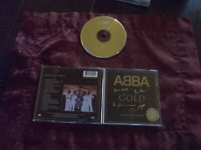 Abba  Gold    Cd  Greatest  Hits  Limited Edition Signature  Issue