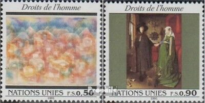Never Hinged 1991 Ece complete Issue Un-geneva 194-197 Unmounted Mint