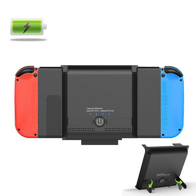 Nintendo Switch Battery Case Extended External Battery Charger Adjustable Stand