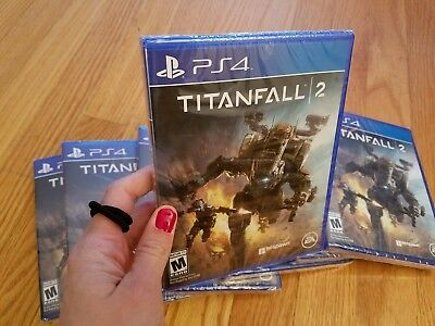 Titanfall 2 (Sony PlayStation 4, PS4 2016) BRAND NEW FACTORY SEALED