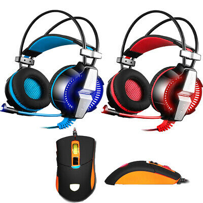 Sades Spirit Wolf Gaming Headset 3.5mm & USB Headphone w/Mic for PS4 Xboxone  PC