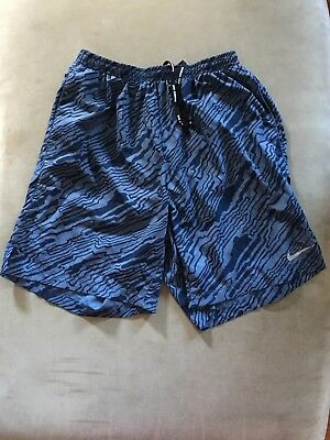 Nike RUNNING Shorts 874623 404 MENS DRI FIT DISTANCE TRAINING BUILT-IN BRIEF NEW