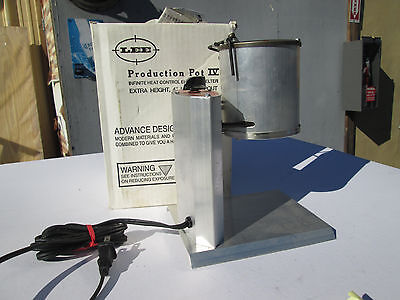 Nos Lee Electric Melters Production Pot Iv Infinite Heat Control