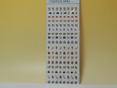 stickers for decoration deco schedule planner agenda Japan new 'Daily A'