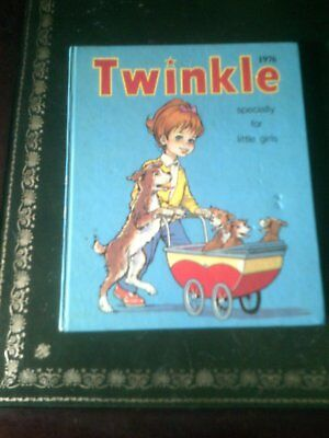 Twinkle Annual Specially For Little Girls 1976, Published 1975, Vintage Book