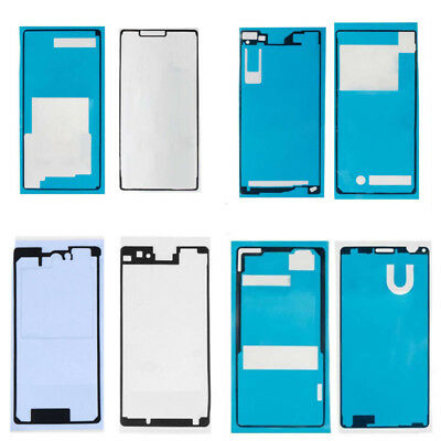 Front+Back Screen Sealed Adhesive Sticker Glue Tape For Sony Xperia Z1 Z2 Z3