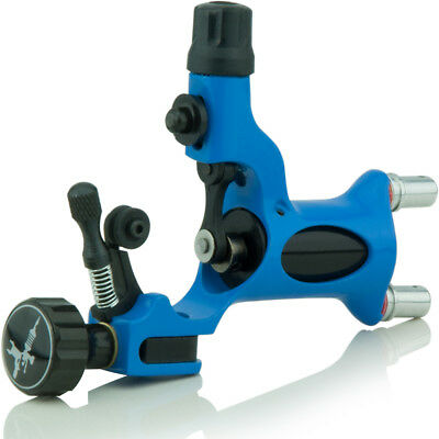 Rotary Profi Tattoomaschine Tattoo Gun Blau - Blue Adjustable Shader - Liner