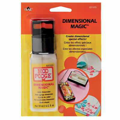 Mod Podge Dimensional Magic - Clear - 59ml - FAST 'N FREE Delivery