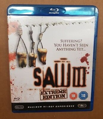 SAW 3 (Blu-Ray, 2007) DVD, BUEN ESTADO
