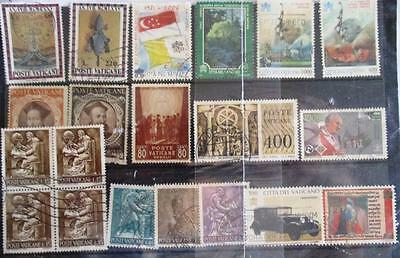 Vatican City stamp selection (20) good used