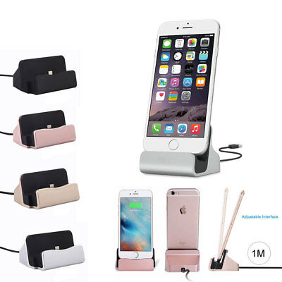 Chargeur Station Accueil avec USB Cable Synchronisation iPhone X/8/8+/7/7+/6/6+