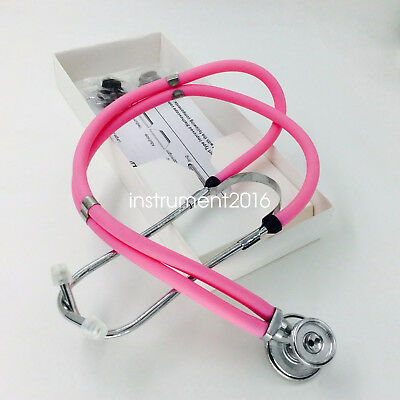Professional multi function stethoscope double tubes & heads fetal heart sounds