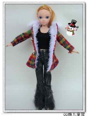 1 Popular Barbie Doll sized Casual Clothes+1 pair of shoes-ON SALE-Fashion Gift*