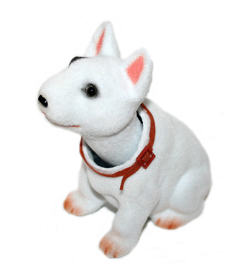 Bull Terrier Dog Bobble Head Doll