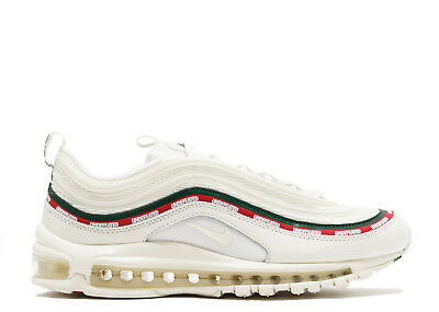 2585ce1b1281 Nike Air Max 97 OG X Undefeated White Red Green USA Import with Stock X Tag