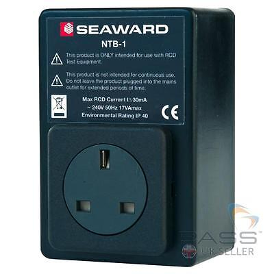 Seaward NTB-1 Portable PAT testing RCD Isolator 372A953