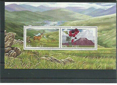 51317 / Fauna ** MNH Block Tiere Joint Issue Irland