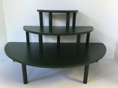 Lot of 3 Byers' Choice Riser Display Stands
