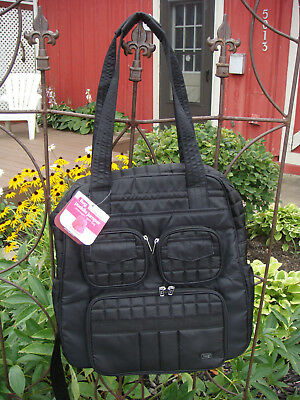 NWT lug Puddle Jumper gym bag overnight weekender with detachable strap