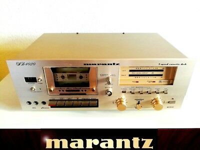 Marantz Tape SD4020 Champagner High End der 70/80er TOP ZUSTAND