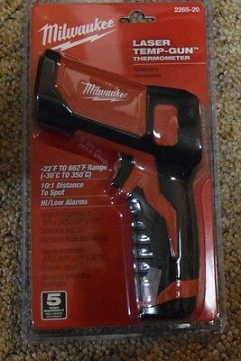 New MILWAUKEE Laser Temp-Gun 2265-20