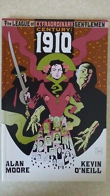 "League Of Extraordinary Gentlemen: Century 1910 ""First Print"" - 2009 Alan Moore"