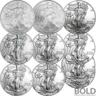 BOLD Set: American Silver Eagles 10 Year Collector Set