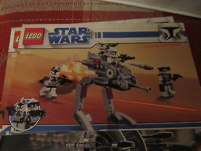 Lego Star Wars 75017 Instruction Manual Book Only Duel On Geonosis