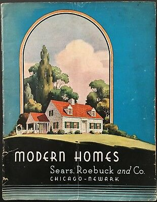 "1938 Sears ""modern Homes"" Catalog - House Construction Kits"