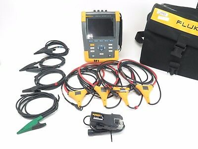 Fluke 435 Series II Three Phase Power Quality and Energy Analyzer