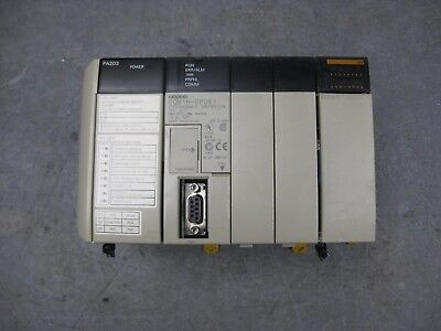 Omron CQM1H-CPU51 Programmable Controller CPU with PA203 power supply