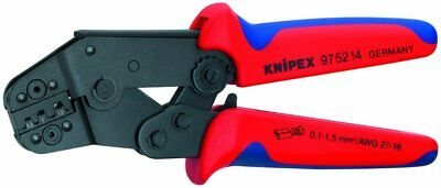 Knipex 97-52-14 Short Crimping Pliers w/ Lever Transmission