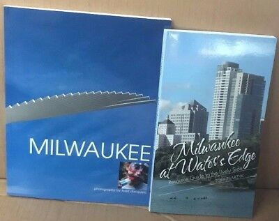 Bundle Lot of 2 NEW Books Milwaukee at Water's Edge and Milwaukee Resource Guide