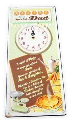 Dad Juliana Recipes From the Heart Wall Clock Christmas Fathers Day All New Gift