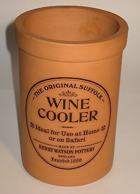"The ""Original Suffolk Wine Cooler"" - Henry Watson Pottery ** Terracotta **"