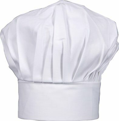 SMYLLS Chef Hat Adult Adjustable Size Poly Cotton Kitchen Ware Cooking Hat 1,