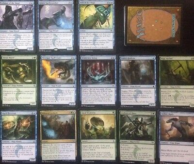 Instant NAGA DECK! Ready To Play 60 Cards Mtg Green Blue