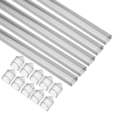 5Pcs CN-506-3HB 1m 14.3mmx6.7mm LED Aluminum Channel for LED Strip Light