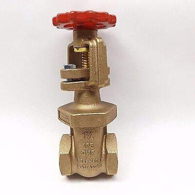"Fppi Ex27117 Fire Main Gate Valve 1-1/4"" 175 Cwp"