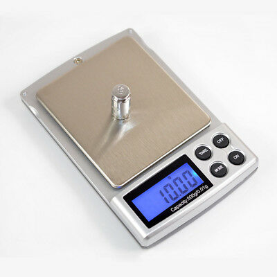 500g 0.01 Digital Pocket Scale Weighing Weigh Kitchen Gram Jewelry Electronic